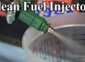 How to clean a fuel injector
